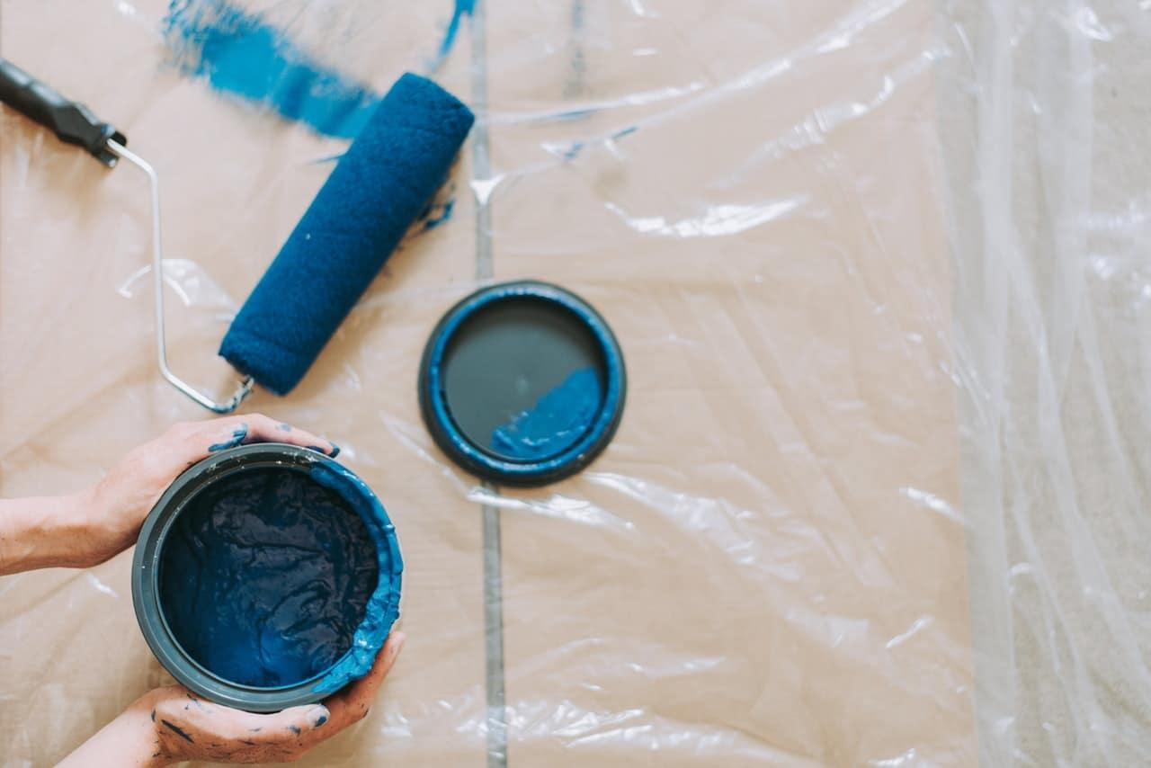 Faut-il peindre avec de la peinture alkyde